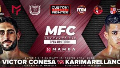 Photo of MAMBA FIGHT SHOWDONW 009 Víctor Conesa vs Karim Arellano