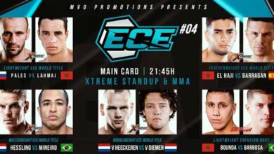 Photo of Enfusion Cage Events 04: Results