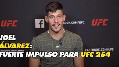 Photo of JOEL ÁLVAREZ: FUERTE IMPULSO PARA UFC 254
