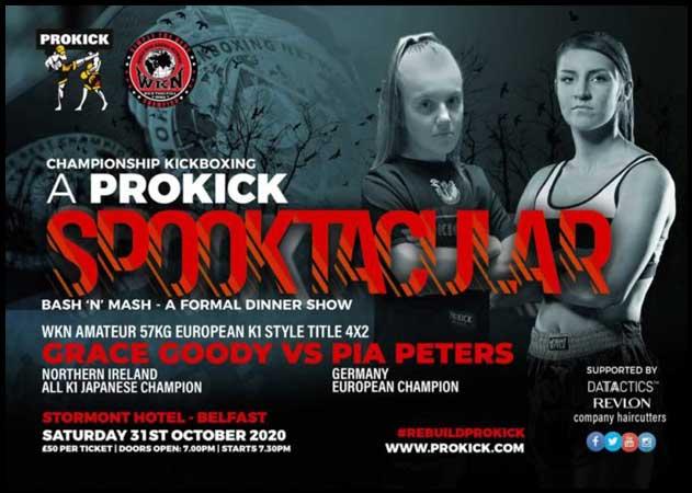 Photo of ProKick Spookick: Tres títulos de la WKN en juego en Belfast