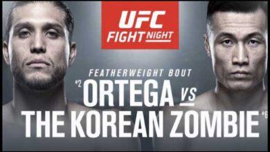 Photo of Resultados de UFC Fight Island 6: Brian Ortega derrota a The Korean Zombie