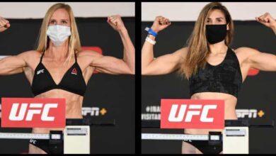 Photo of Resultados pesaje y vídeo de Holm vs.Aldana