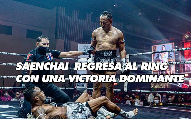 Photo of SAENCHAI  REGRESA AL RING CON UNA VICTORIA DOMINANTE