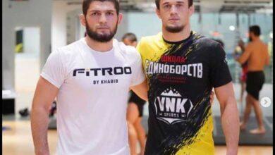 Photo of Nurmagomedov firma con Bellator