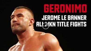 Photo of Jerome Le Banner – Todos los combates por el título de kickboxing de WKN World
