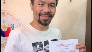 Photo of Manny Pacquiao firma con la promotora de Conor McGregor y Rico Verhoeven
