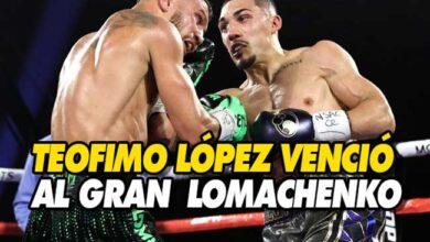 Photo of Teofimo López vence a Vasyl Lomachenko por decisión unánime