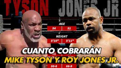 Photo of ¿Cuánto cobrarán Mike Tyson Y Roy Jones Jr.? ¿Quieres saberlo ?