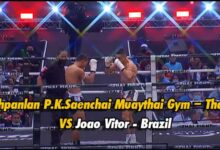 Photo of Video Petchpanlan P.K.Saenchai Muaythai Gym – Thailand VS Joao Vitor – Brazil