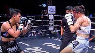 Photo of Thai Fight Korat- Souris Manfredi y Sliman Zegnoun pierden antes del límite