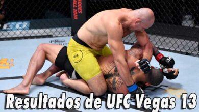 Photo of Resultados de UFC Vegas 13 Teixeira somete a Santos