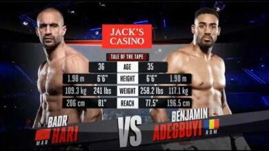 Photo of 🔴 BADR HARI VS BENJAMIN ADEGBUYI – EN DIRECTO- LIVE