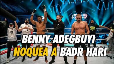 Photo of Benny Adegbuyi noquea a Badr Hari-Resultados de GLORY 76