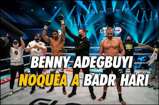 Photo of Benny Adegbuyi noquea a Badr Hari-Resultados de GLORY 76