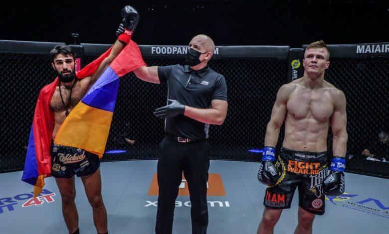 Photo of Resultados de ONE Championship 'Big Bang': Grigorian termina con Kondratev