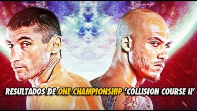 Photo of RESULTADOS DE ONE CHAMPIONSHIP 'COLLISION COURSE II'