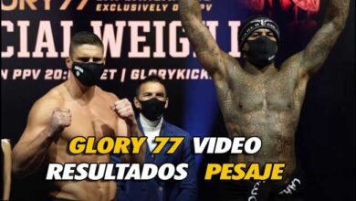 Photo of Rico Verhoeven vs Hesdy Gerges 3 GLORY 77 VÍDEO PESAJE