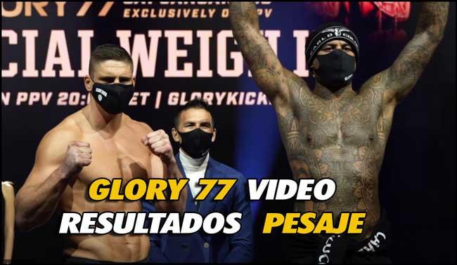 Photo of Rico Verhoeven vs Hesdy Gerges 3 GLORY 77 VÍDEO PESAJE