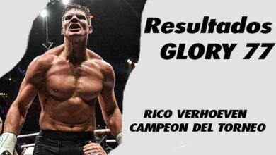 Photo of Resultados de GLORY 77- RICO VERHOEVEN CAMPEON DEL TORNEO 4 MEN