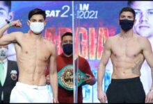 Photo of Resultados de pesaje: Ryan García – Luke Campbell