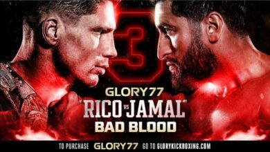 Photo of GLORY 77: Rico Verhoeven vs Jamal Ben Saddik 3
