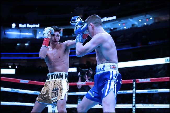 Photo of Ryan García noquea a Luke Campbell en el el 7º asalto