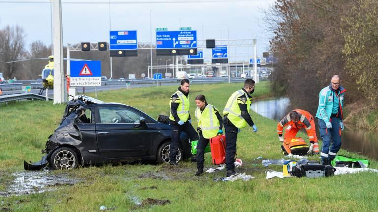 Photo of Robin van Roosmalen, un camión destroza su vehículo