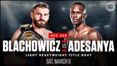 Photo of El mega evento de la UFC con tres peleas de campeonato ya está a la vuelta de la esquina