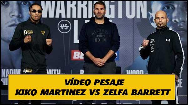 Photo of Zelfa Barrett vs.Kiko Martínez: fecha, cómo ver, predicciones