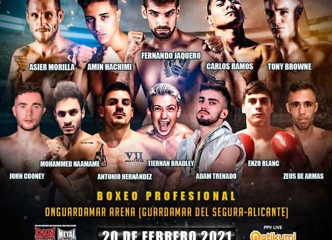 Photo of Resultados Velada Boxeo On Guardamar Arena 20-02-21