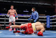 Photo of Canelo destruye a Yildirim en el 3º asalto