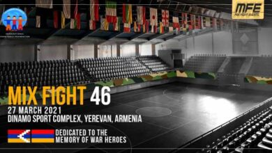 Photo of Mix Fight 46 en Armenia 27-03-21