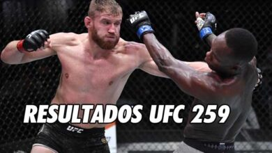 Photo of RESULTADOS UFC 259: BLACHOWICZ VS ADESANYA