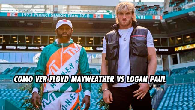 Photo of Como ver Floyd Mayweather vs Logan Paul en vivo: fecha y hora