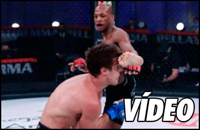 Photo of Vídeo-Michael Page destruye la nariz de Derek Anderson en Bellator 258