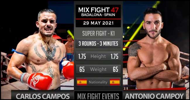 Photo of Carlos Campos vs Antonio Campoy-Mix Fight 47
