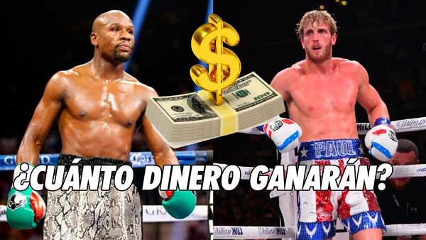 Photo of ¿Cuánto dinero ganarán  Floyd Mayweather y Logan Paul?