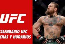 Photo of CALENDARIO UFC 2021 : FECHA, HORARIO, TV Y DÓNDE VER ONLINE GRATIS LAS PELEAS