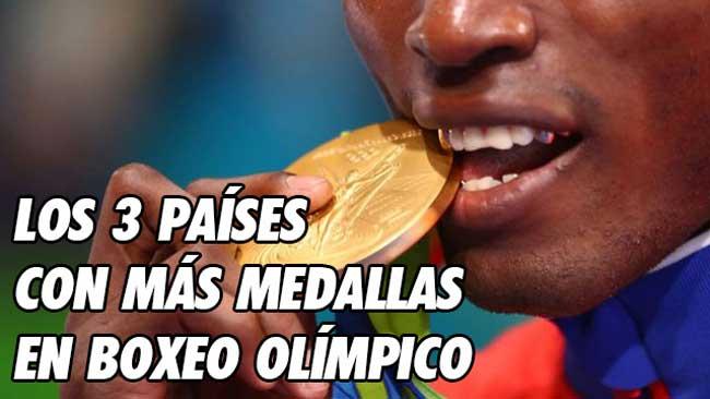 Photo of LOS 3 PAÍSES CON MÁS MEDALLAS EN BOXEO OLÍMPICO