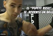 """Photo of El """"Popeye ruso"""" se le revienta un brazo peleando (Video)"""